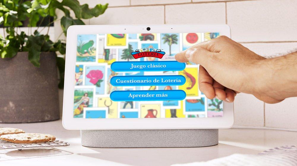 Loteria Don Clemente on Google Nest Hub