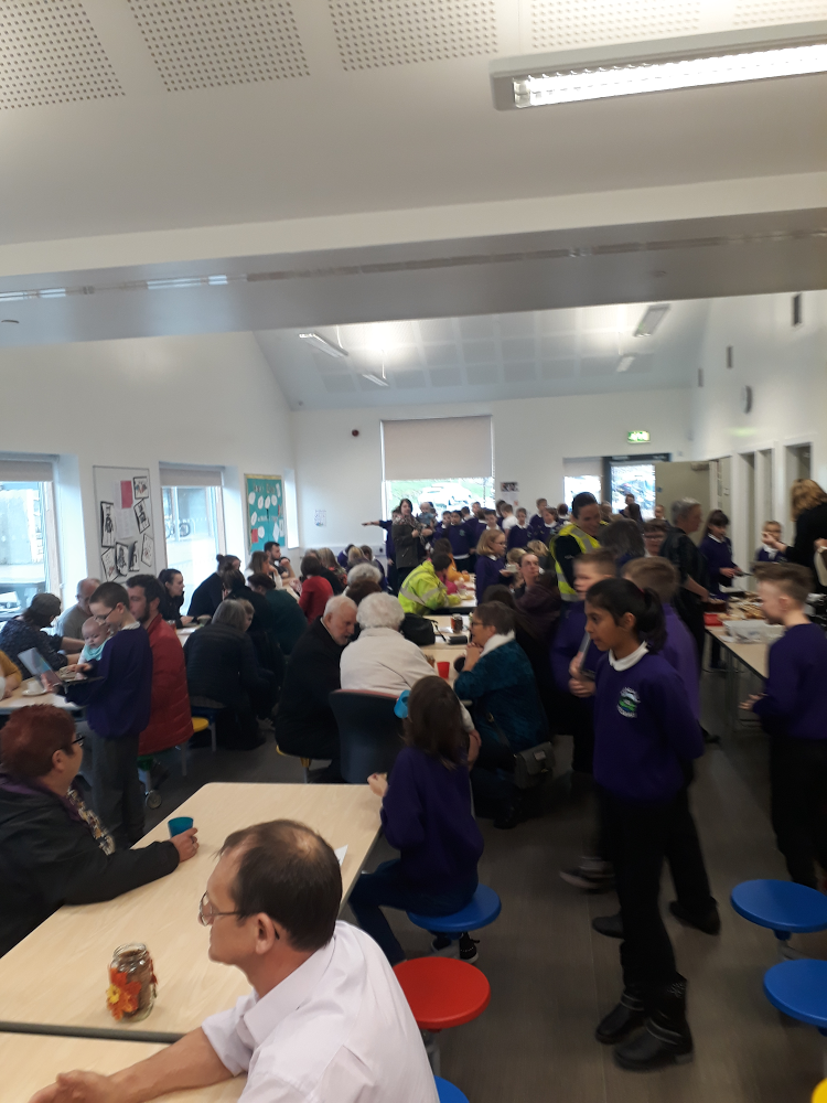 Community Cafe at Lundavra Primary