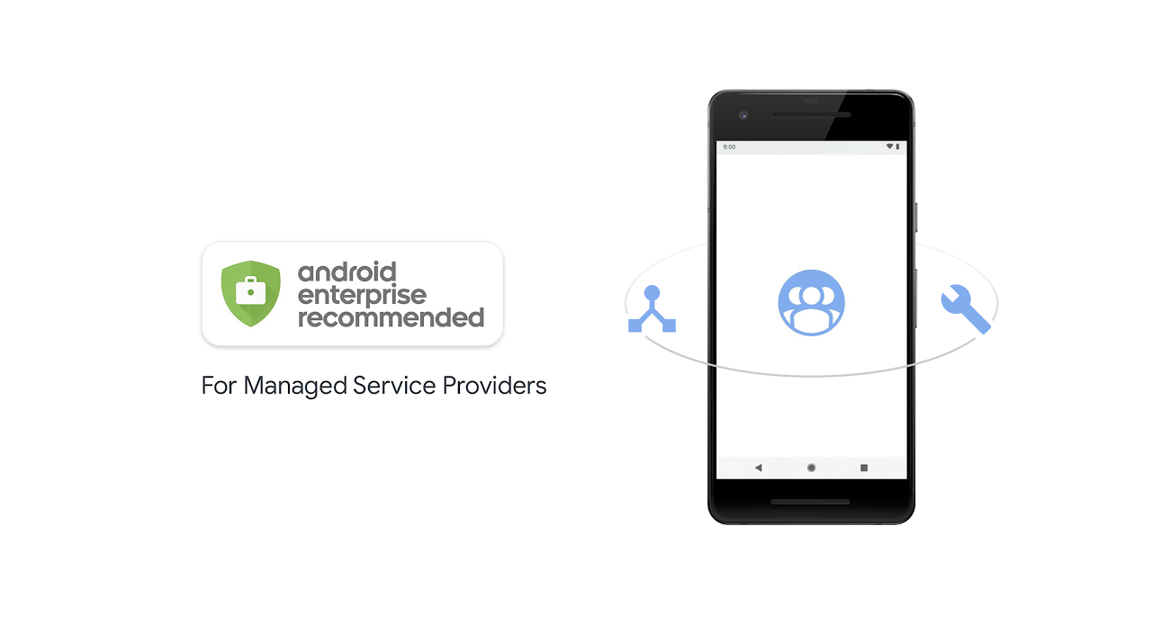 QnA VBage Android Enterprise Recommended expands to include Managed Service Providers