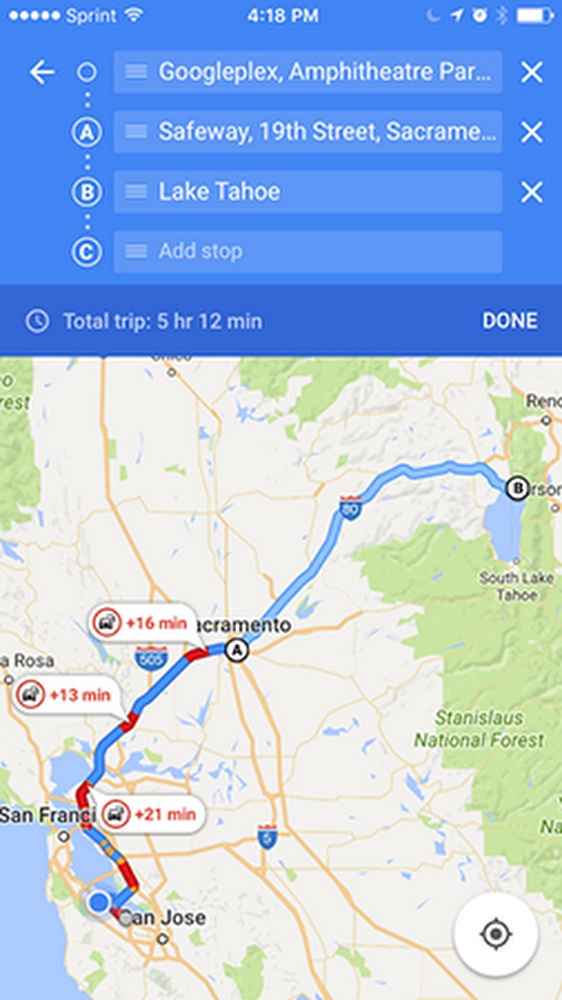 Now you can build multi-stop road trips on Google Maps for iOS