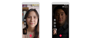 Google Duo low light mode