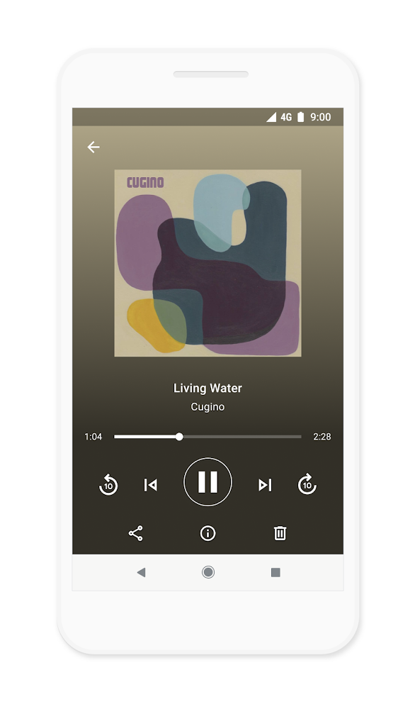 Files - New audio player features give you more control