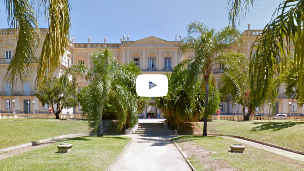 Inside Brazil's National Museum on Google Arts & Culture
