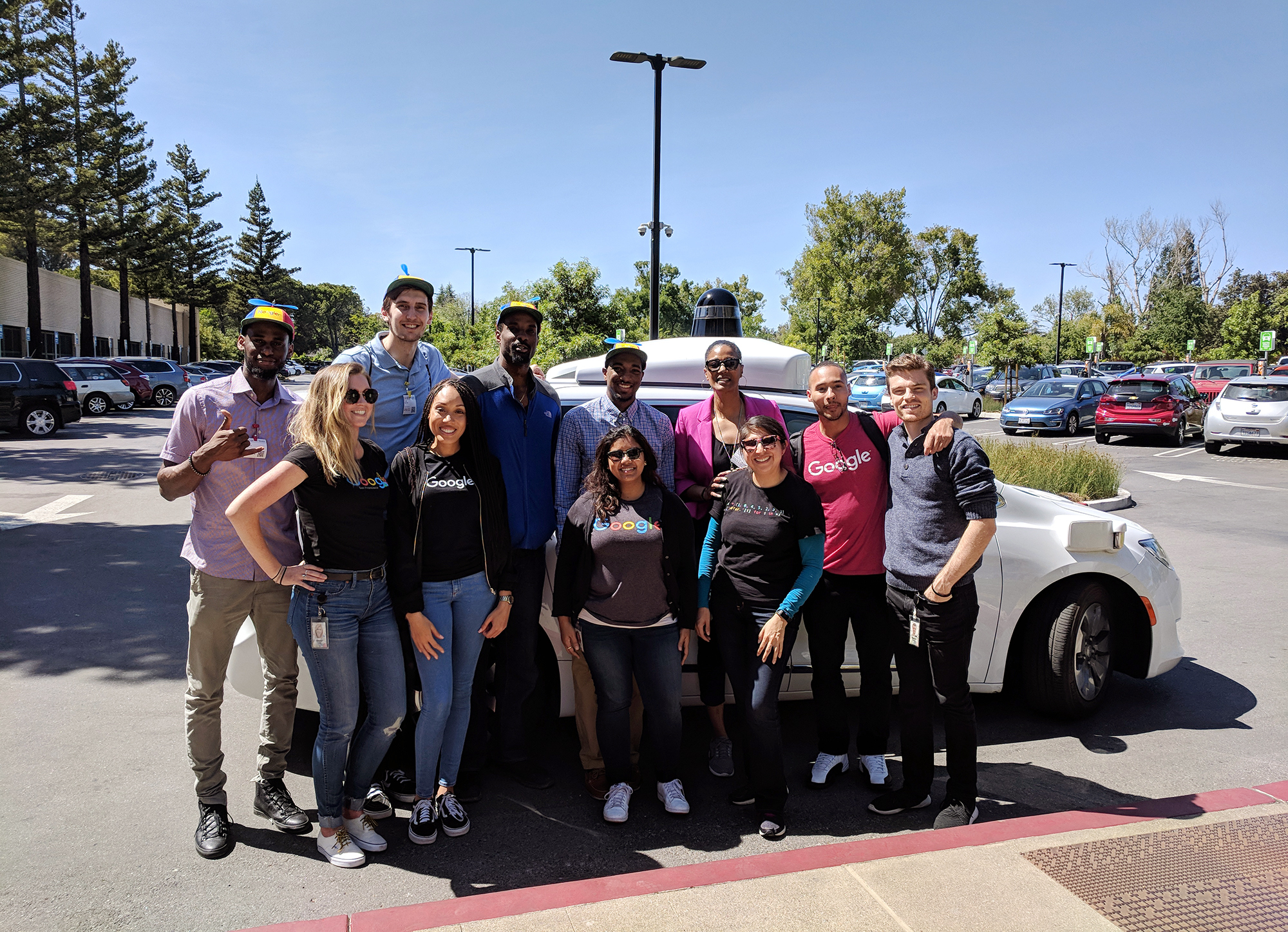 Off the court: how the NBA spent a day at Google