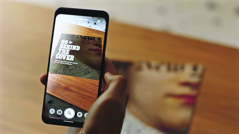 Go beyond the page with Google Lens and NYT Magazine