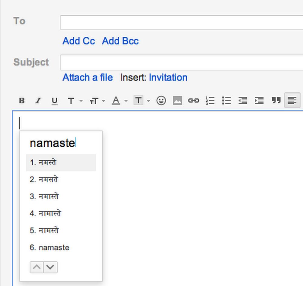 Namaste Gmail