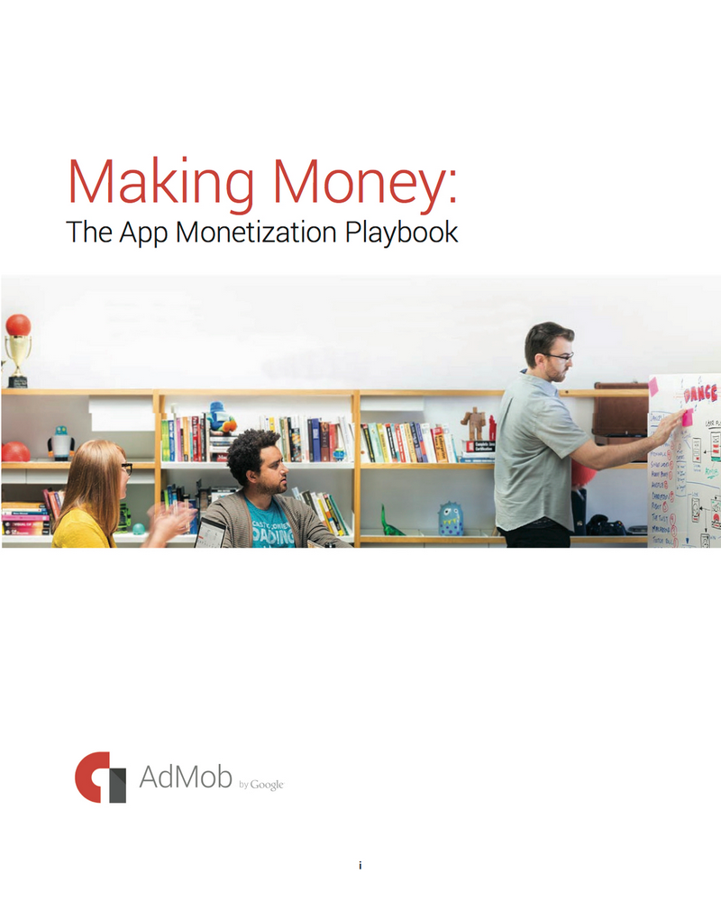 [New eBook] Download Making Money: The App Monetization Playbook