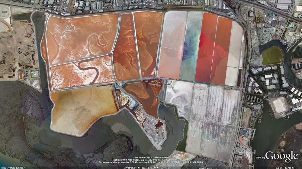 San Francisco Bay Area Salt Ponds