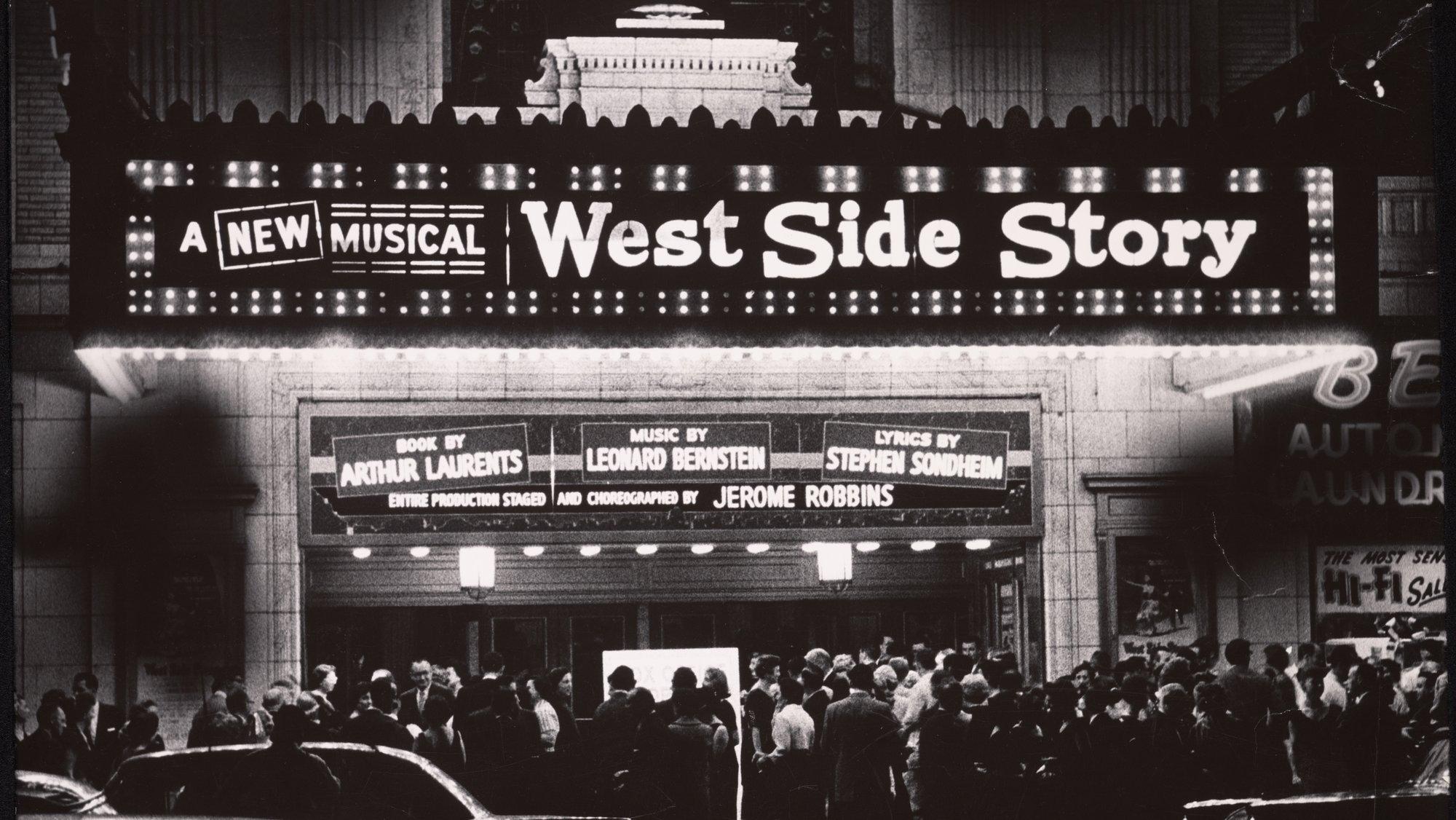 Outside Philadelphia's Erlanger Theatre before the Broadway Opening_NYPL.jpg