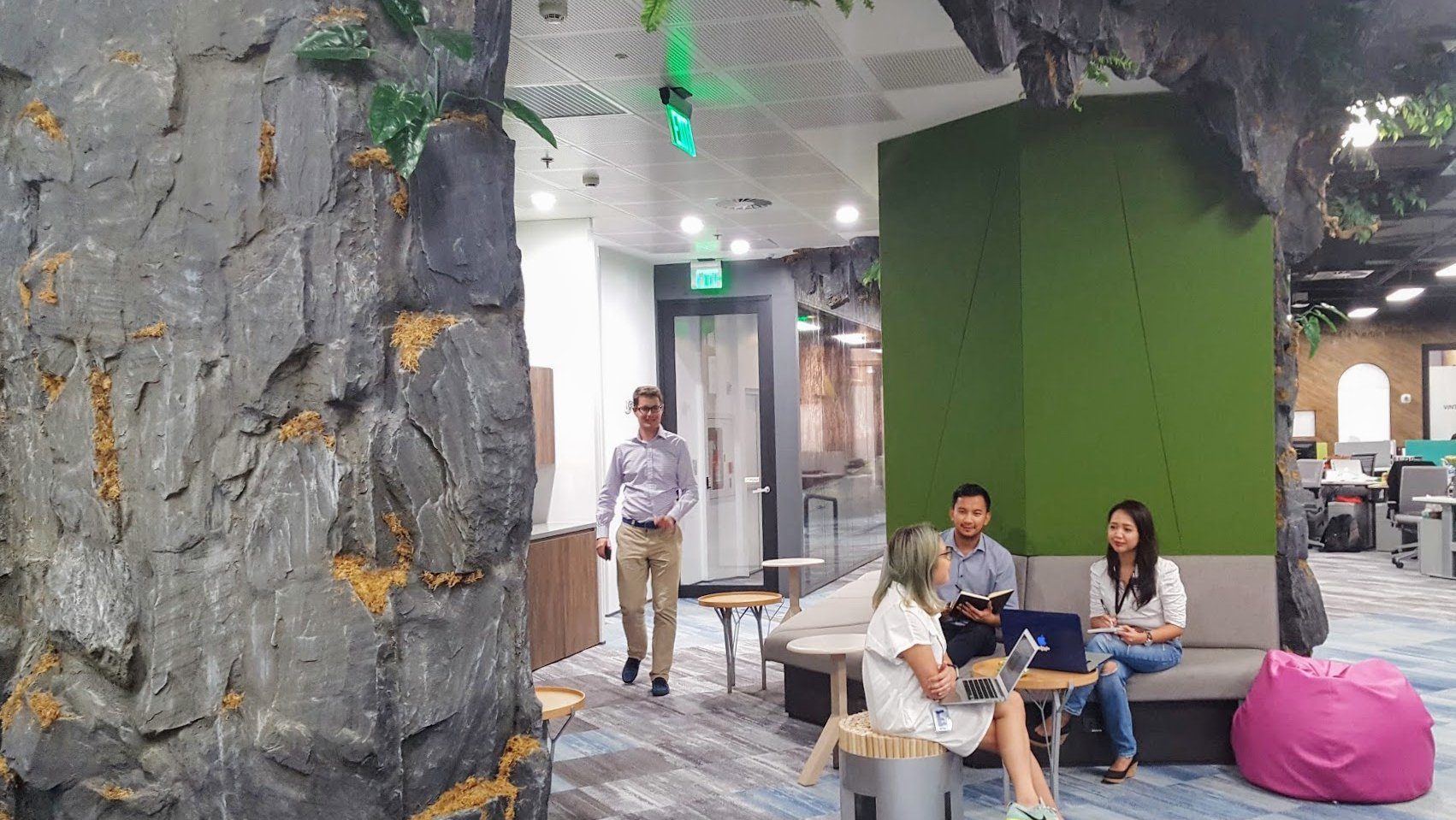 Manila office - Tabon caves