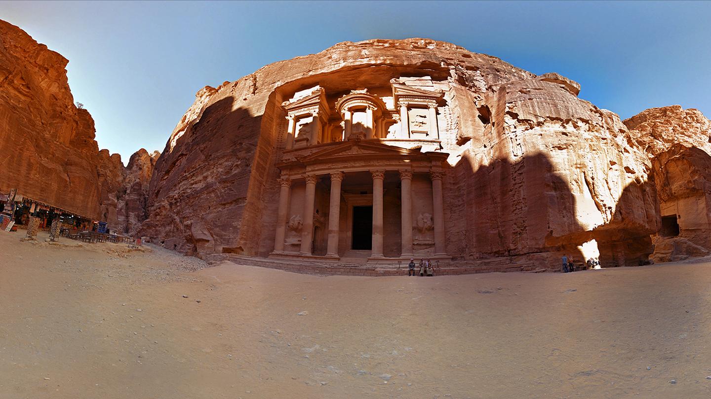 Google Maps Tour Petra