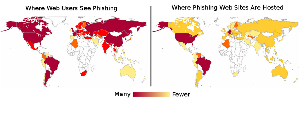 Phishing map