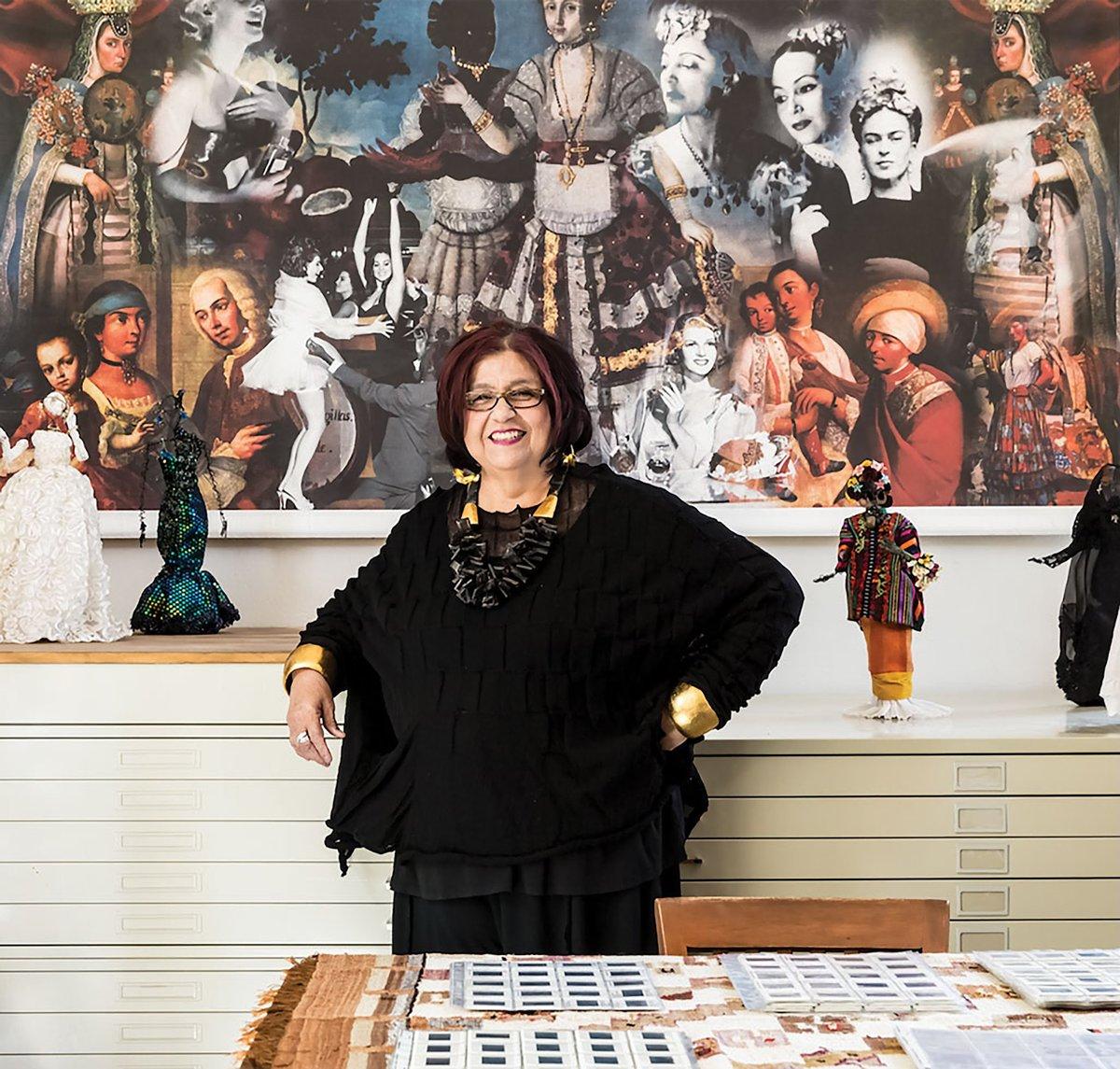 Photo of Amalia Mesa-Bains_Museo Eduardo Carrillo.jpg