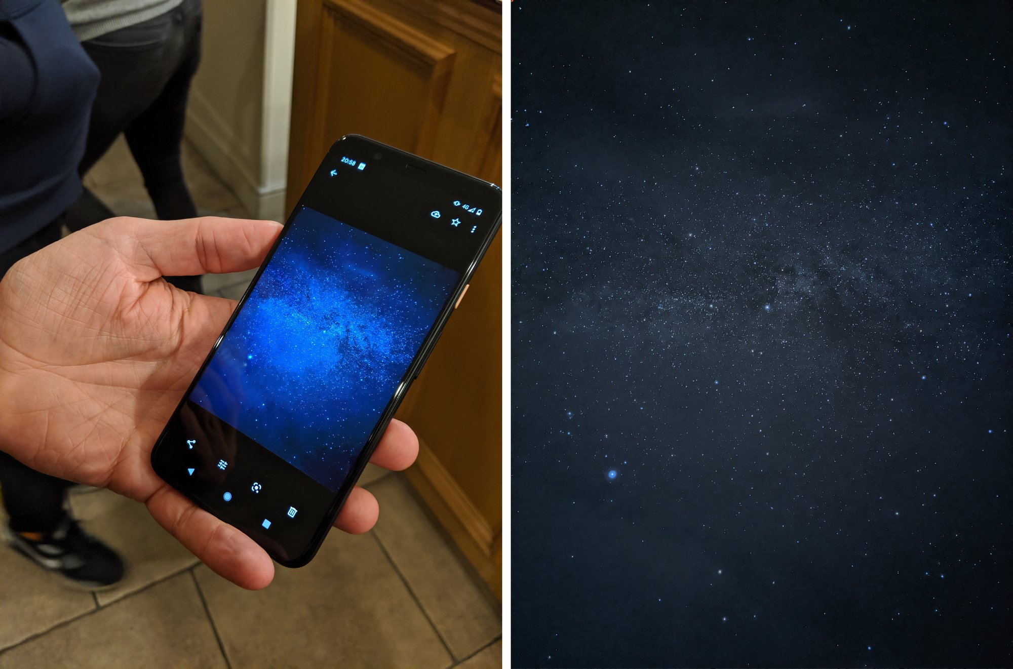 Closer to the stars with Pixel 4