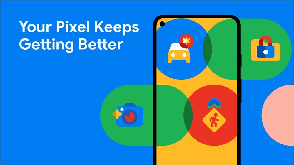 Supercut video of new Pixel features.