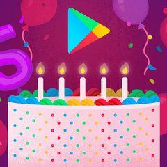 5th Birthday Google Play