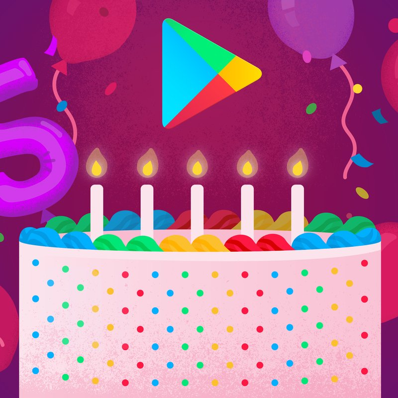 5th Birthday Google Play