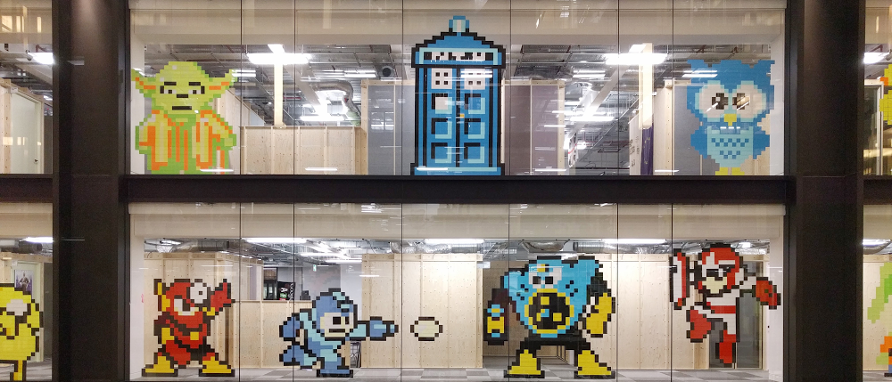How a Google office became a sticky-note art gallery