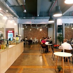 Hub at Prinsep cafe