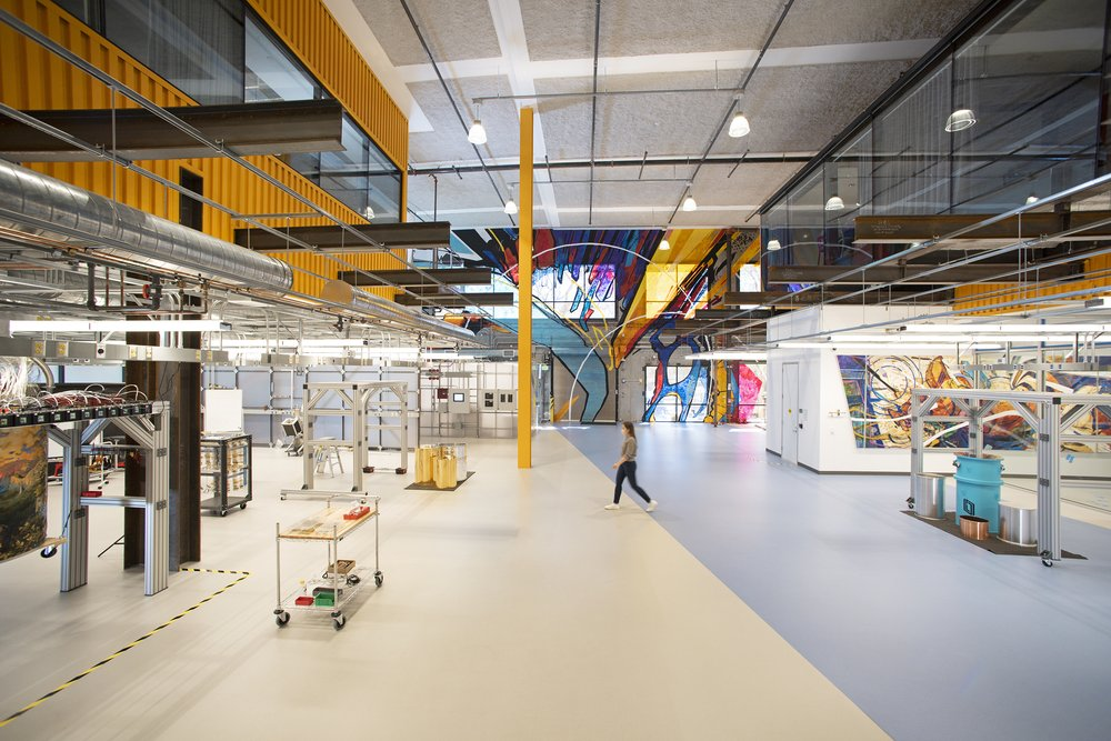 A photo of the interior of our new Quantum AI campus