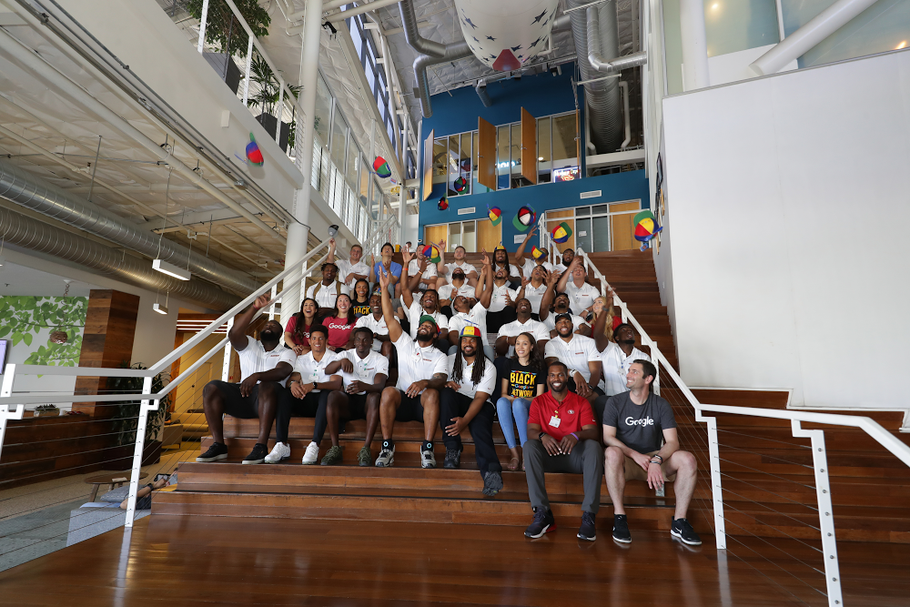 How the San Francisco 49ers spent a day as Google