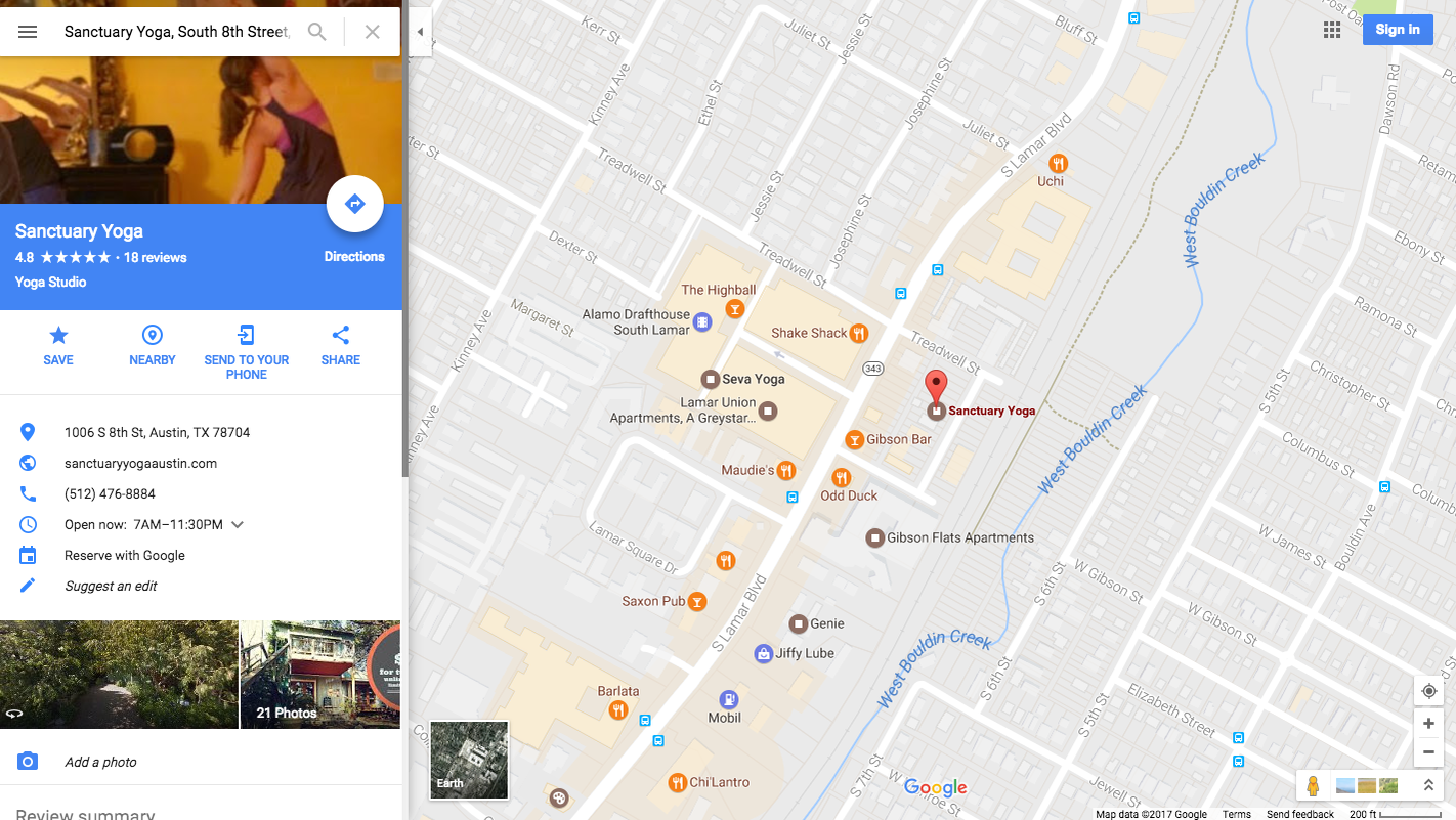 Book Fitness Classes Anywhere In The US On Google - Google map for us