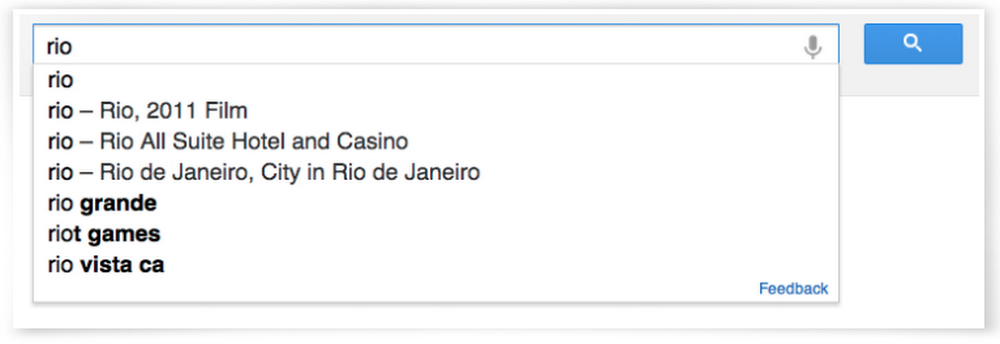 Rio search results