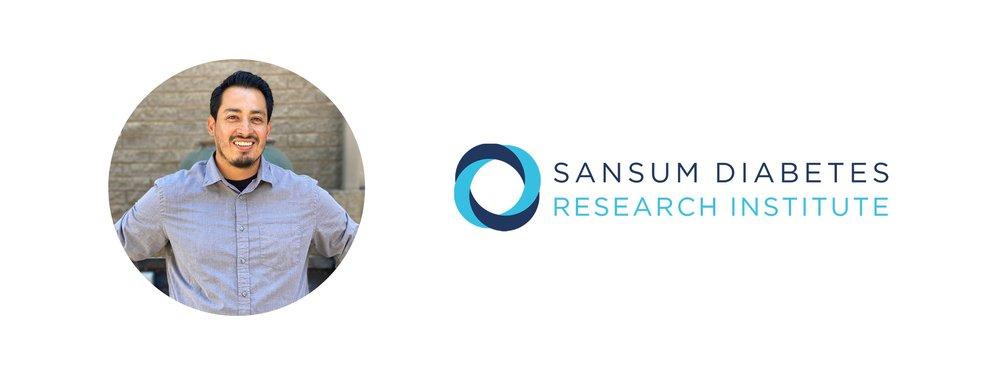 A photo of  Rony F. Santiago of Sansum Diabetes Research Institute