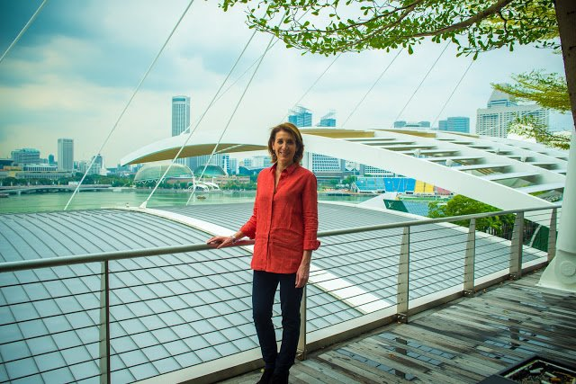 Ruth Porat in Singapore