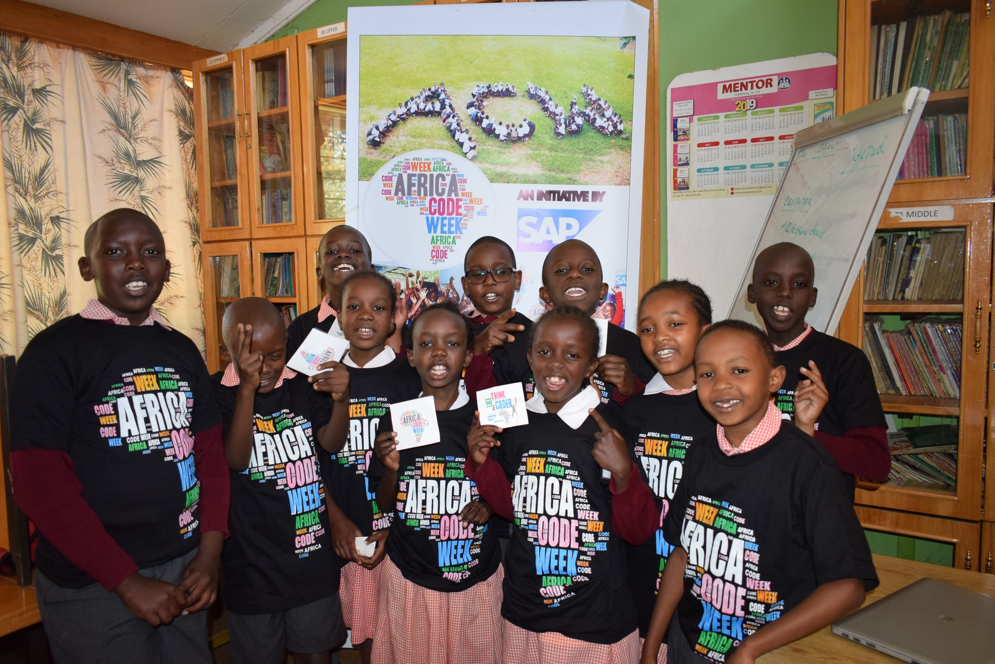 Europe and Africa code weeks: 136,000 students learn to code
