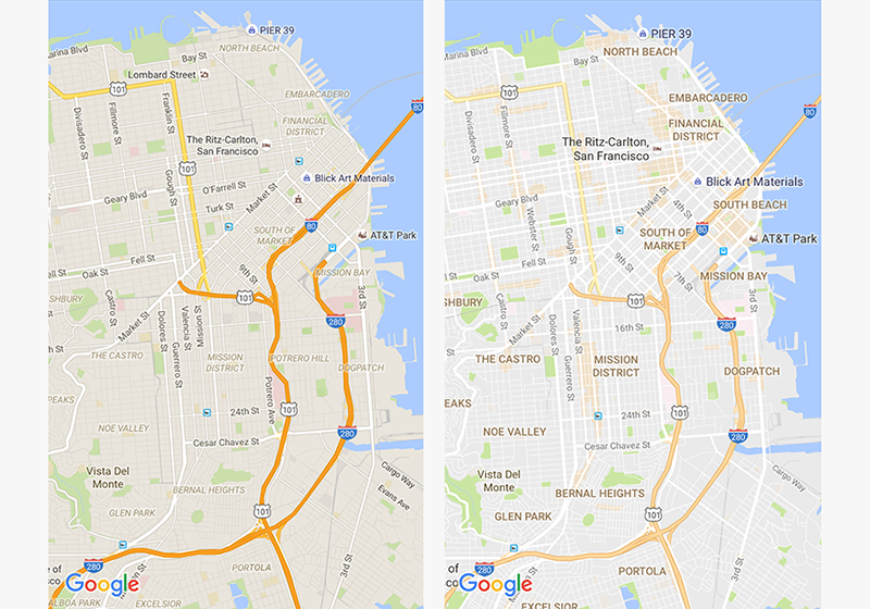discover the action around you with the updated google maps