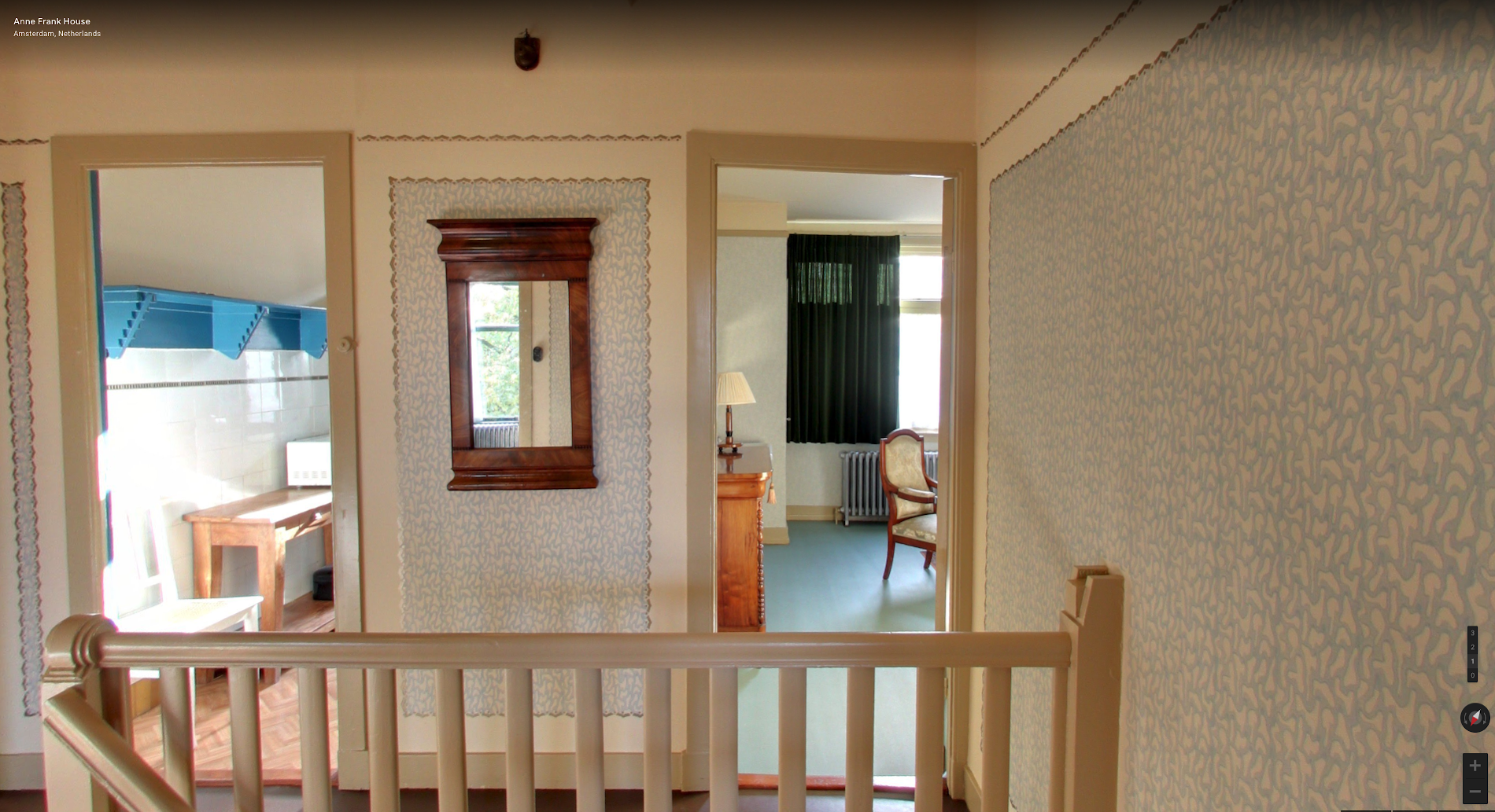 Visit Anne Frank's childhood home on Google Arts & Culture