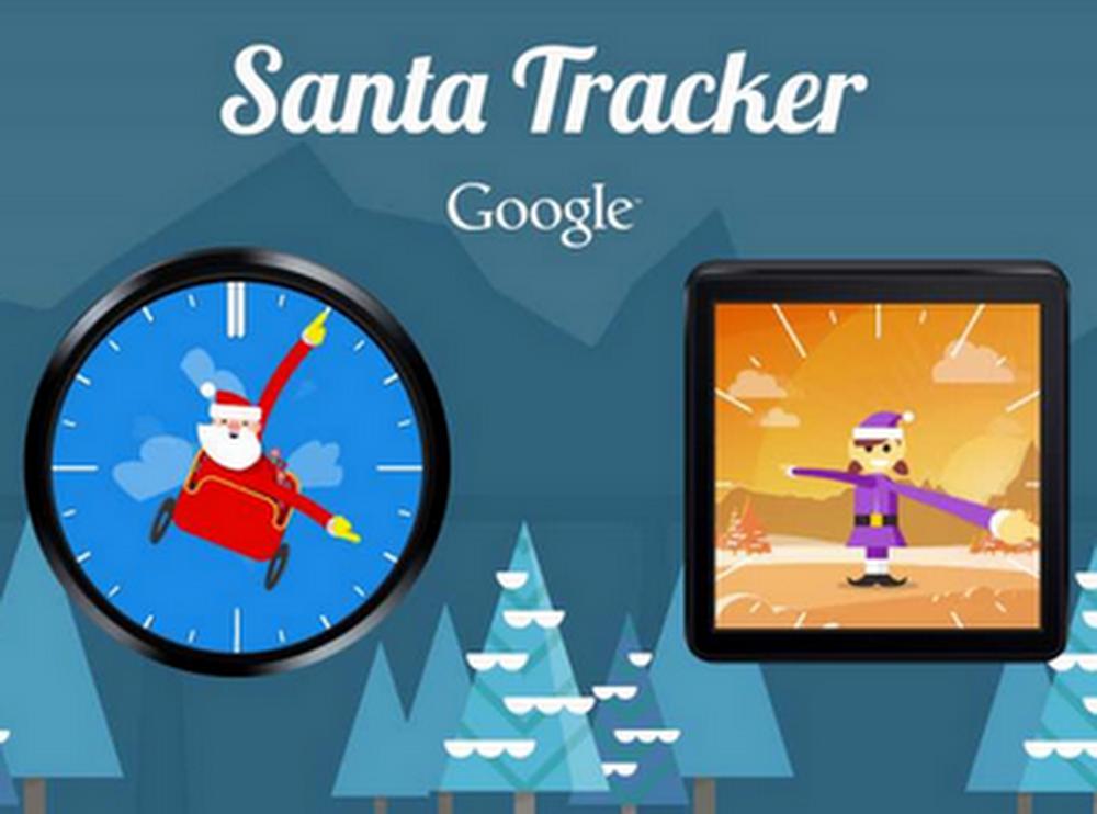 Santa Android Wear