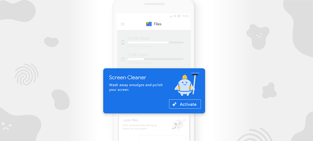 Can't mess with this: new Screen Cleaner in the Files app