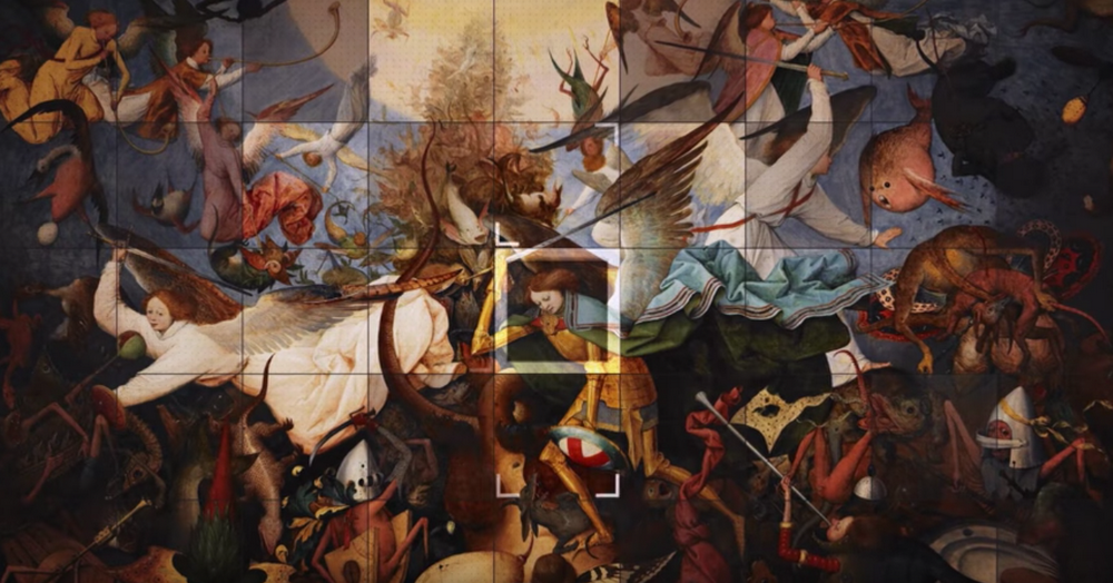 When Bruegel met Google: immerse yourself in a masterpiece