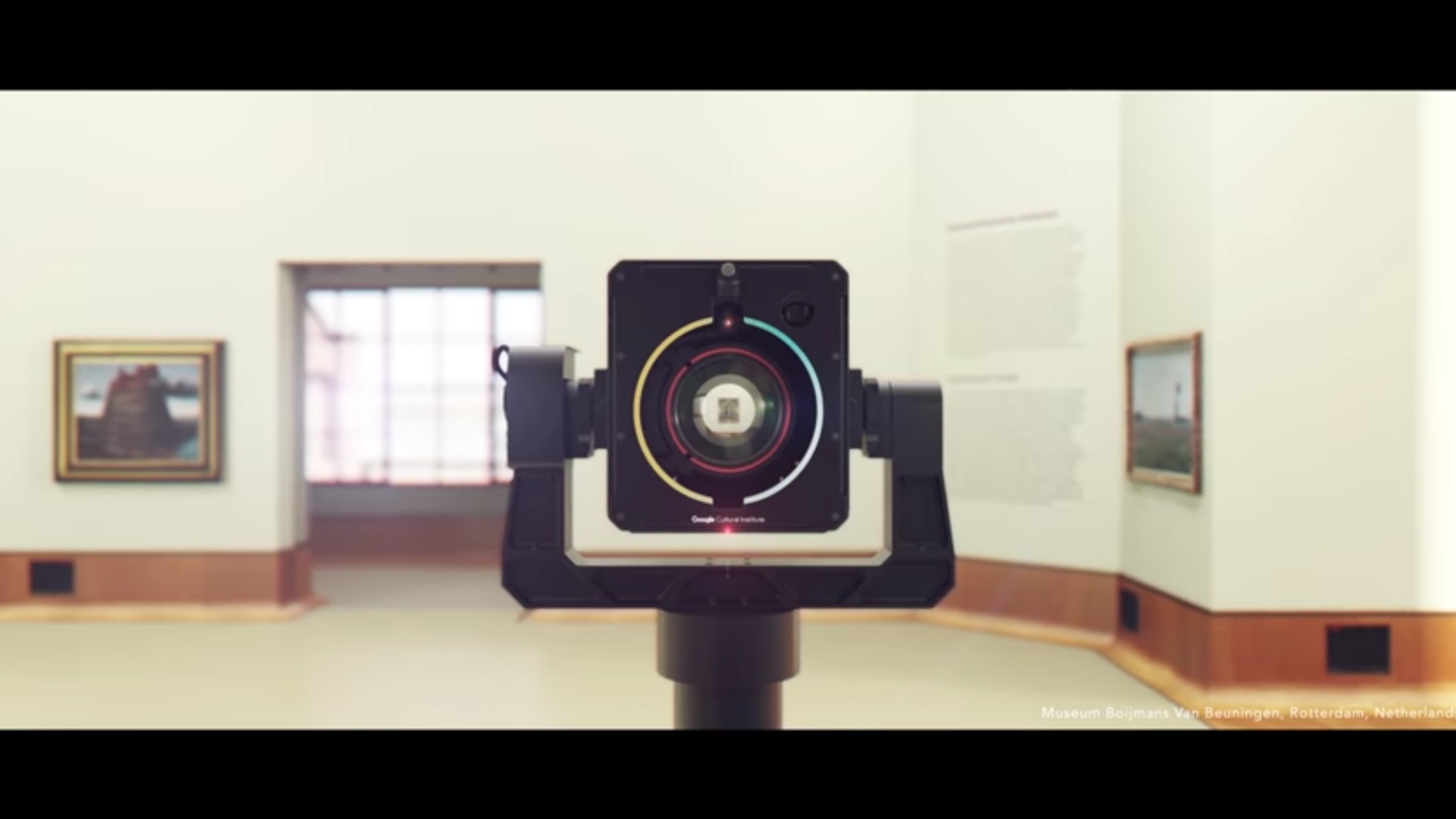 Meet the Art Camera by the Google Cultural Institute at Museum Boijmans Van Beuningen