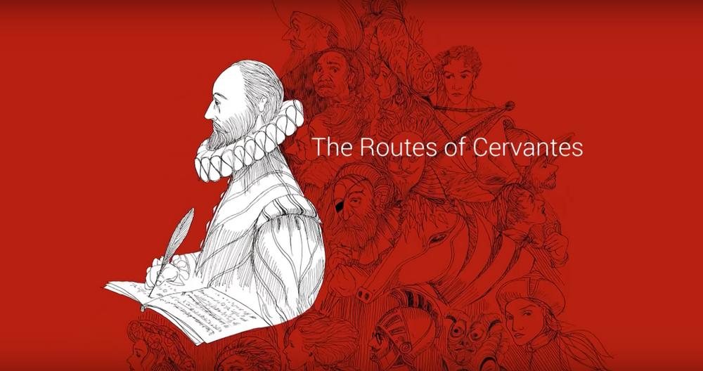A virtual tribute to Cervantes