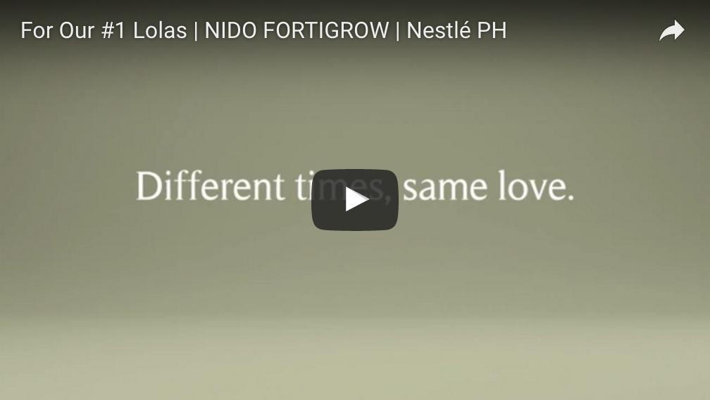 For Our #1 Lolas | NIDO FORTIGROW | Nestlé PH
