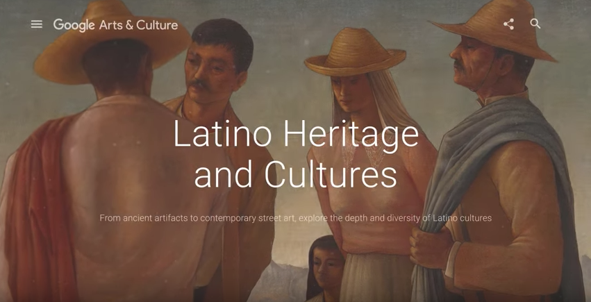 Celebrate Hispanic Heritage Month on Google Arts & Culture