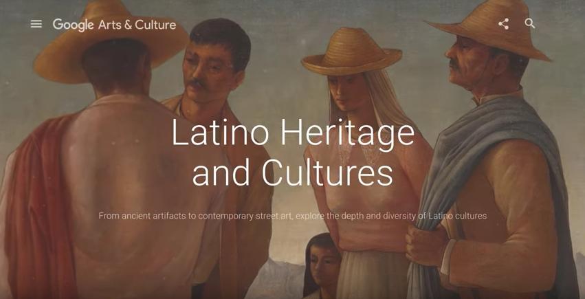 Celebrate Hispanic Heritage Month on Google Arts & Culture