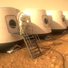 WebVR-Mars One Mission
