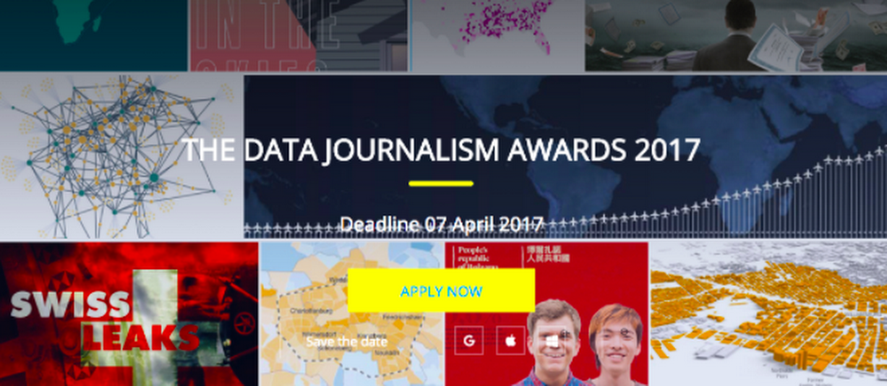 Data Journalism Awards SS