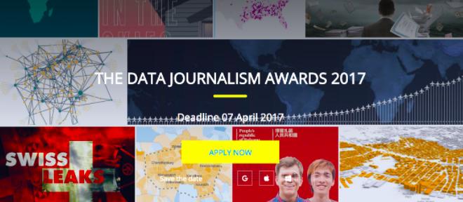 Data Journalism Awards SS