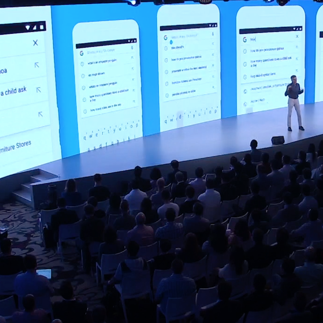 Sridhar at Google Marketing Next