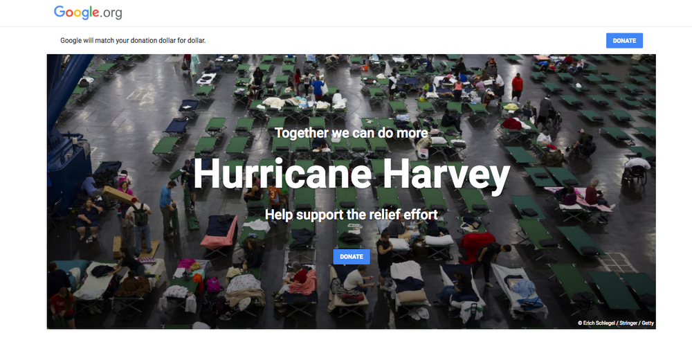 Harvey Matching Campaign