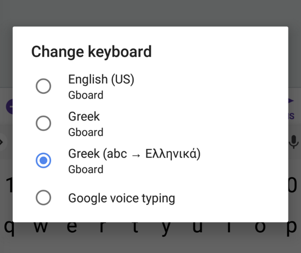 Typing Greek has never been so easy