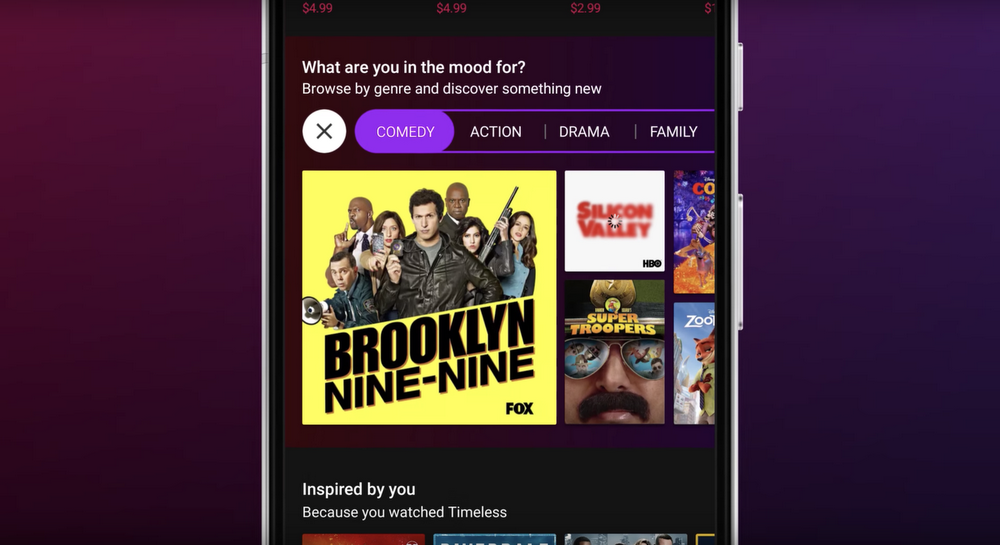 Google Play helps you find what to watch and where to watch it