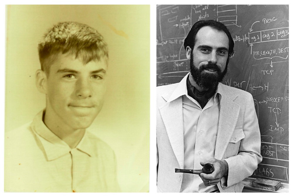 vint cerf in 1956 and in 1973