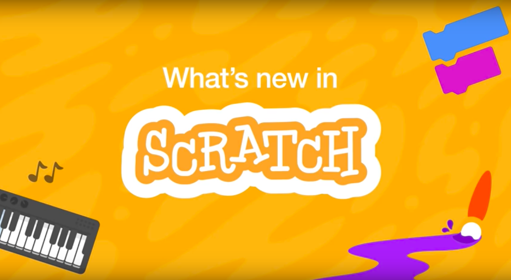 New images and sounds from the new Scratch 3.0.