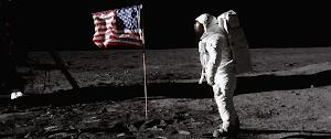 Moon landing hero